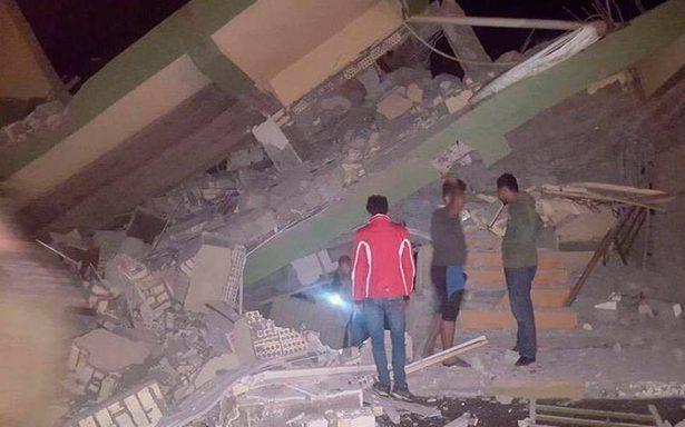 Al menos 135 muertos por terremoto de 7.3 en frontera de Irán e Irak