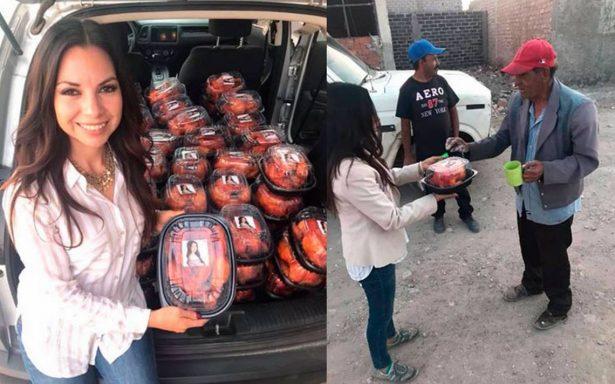Diputada zacatecana Iris Aguirre, otra vez en la polémica… ahora es #LadyPollos