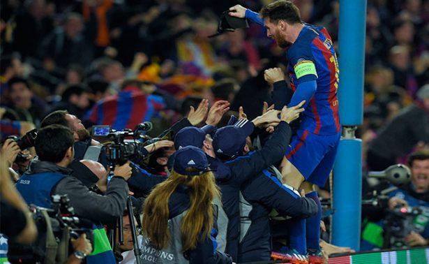 Barcelona logra remontada histórica en Champions