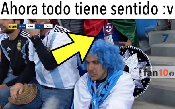 Tal vez para Qatar… memes le marcan el camino del adiós a Argentina