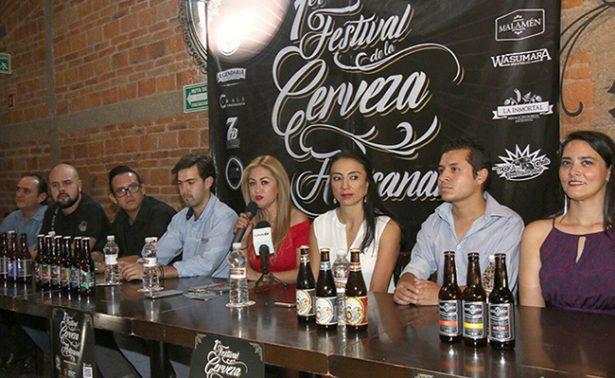 Primer Festival de Cerveza Artesanal en Bocas, San Luis Potosí