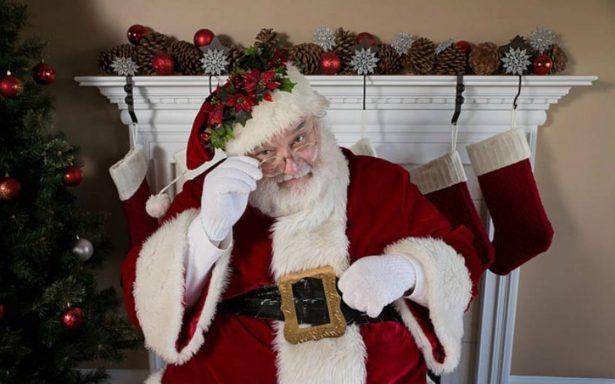 ¿La última Navidad para Santa? lo diagnostican con alcoholismo y estrés