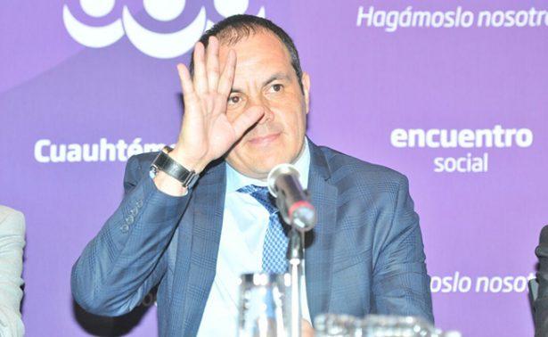 Cuauhtémoc va de gobernador no de candidato: PES