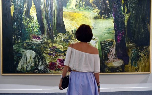Artistas iberoamericanos exponen en la Feria de Arte de Beirut