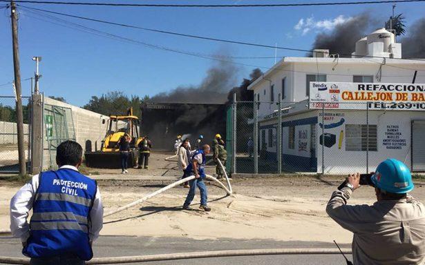 Explosión en Ciudad Madero cerca de Pemex