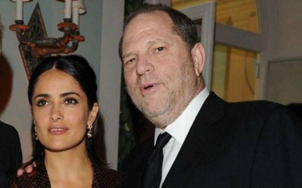 Harvey Weinstein responde a Salma Hayek, afirma su relato 'no es exacto'