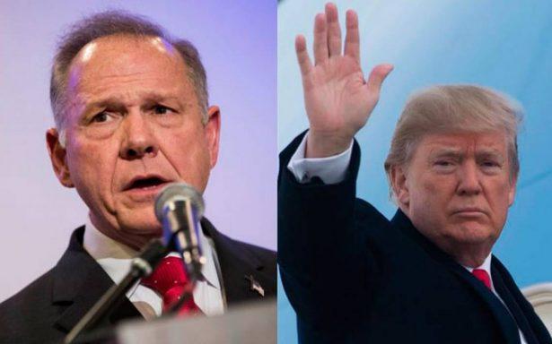 Trump pide votar por candidato al Senado acusado de acoso sexual