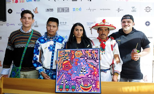 Arte y música apoyan a  la comunidad huichol
