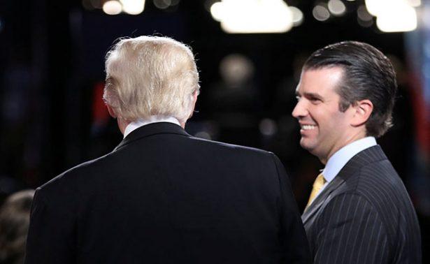 ¡Confirmado! Trump sí intervino en la polémica de su hijo con Rusia