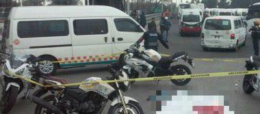 Muere joven atropellada por camión de pasajeros en paradero de Indios Verdes