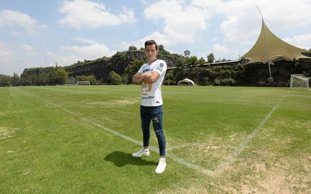 Alan Mozo vive su sueño con Pumas