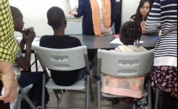Inician clases primeros niños haitianos en Tijuana