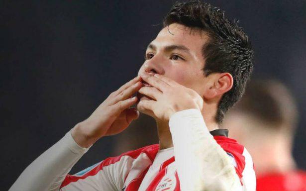 """""""Chucky"""" Lozano anota y le da la victoria al PSV"""