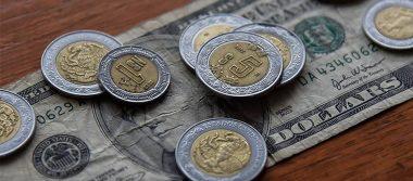 Dólar cede terreno, se vende hasta en 19.25 pesos en bancos