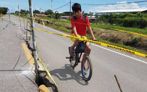 En el olvido carreteras de Chiapas