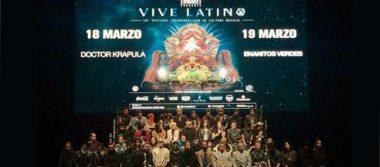Todo listo para la edición 18 del Festival Vive Latino