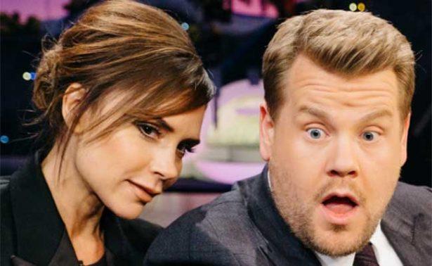 Victoria Beckham y James Corden para el próximo Karaoke