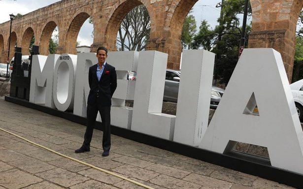 Diego Silveti, se encuentra ya en Morelia