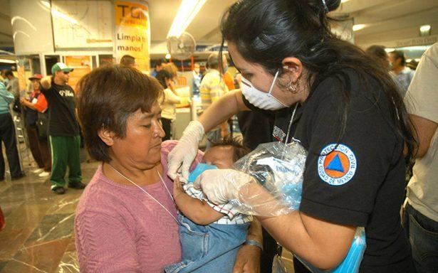 Aumentan 231% los casos de influenza