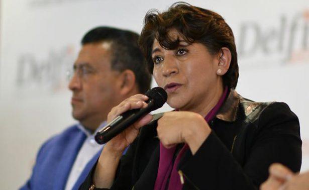 Morena y Delfina Gómez reciben multa por más de 1 mdp