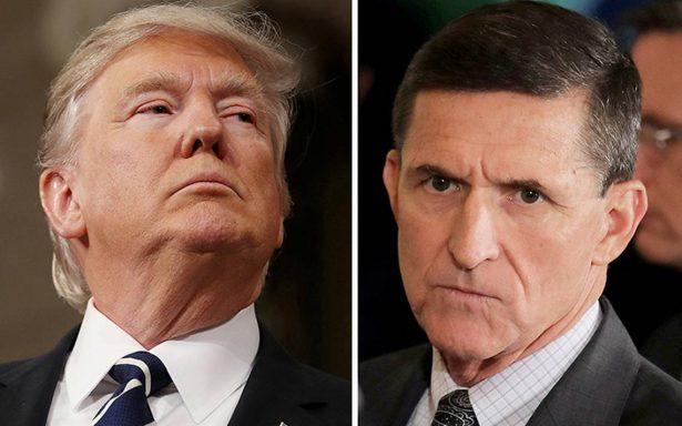 Nunca le pedí a Comey que parara de investigar a Flynn, otra noticia falsa: Trump