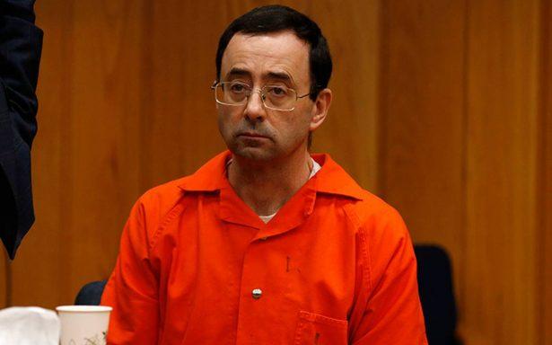 Por abusar de gimnastas, condenan a Larry Nassar con hasta 125 años de cárcel