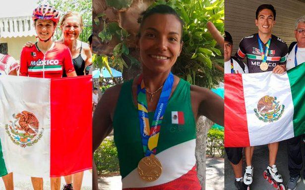 México se cubre de oro tras exitosa jornada en JCC Barranquilla 2018