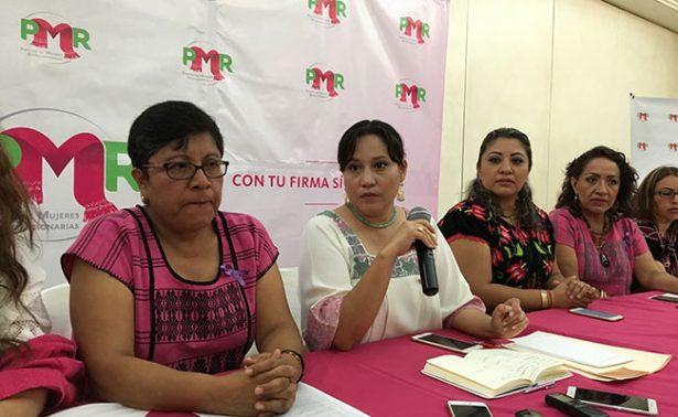 Buscan crear el Partido de Mujeres Revolucionarias