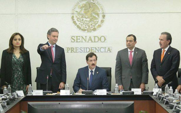 Aurelio Nuño comparece en el Senado para defender la reforma educativa