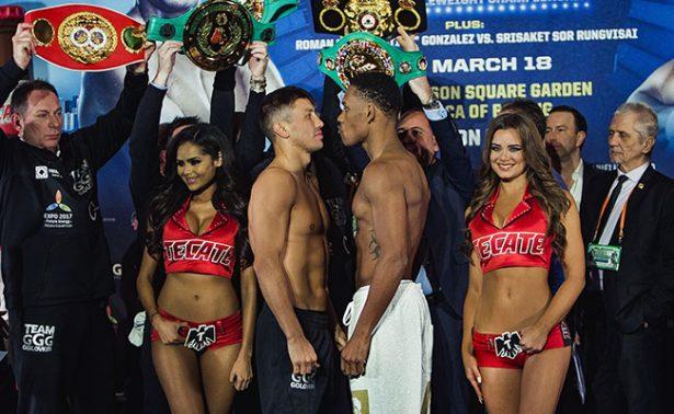 Gennady Golovkin vs Daniel Jacobs en pelea de box