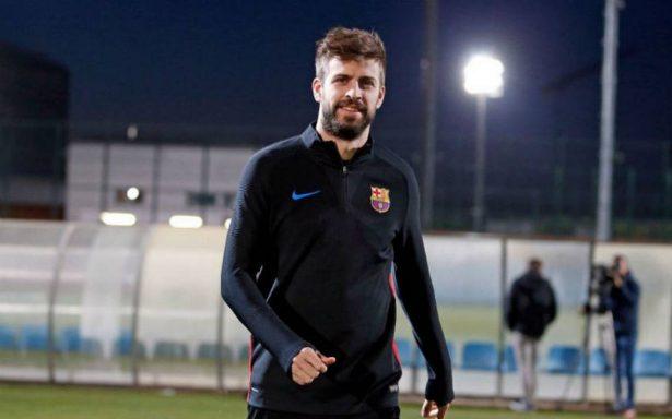 Piqué renueva con Barcelona hasta 2022; su cláusula es de 500 millones de euros