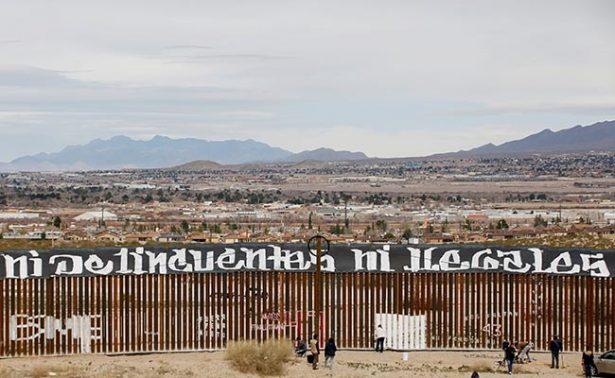 """EU quiere que muro con México sea estéticamente """"bonito"""""""
