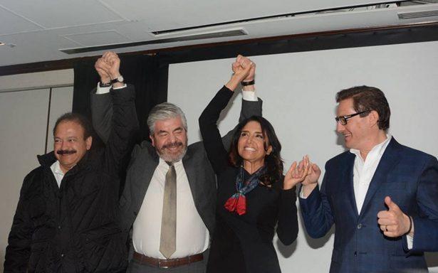 Alejandra Barrales gana encuesta del PRD y será precandidata a la CDMX