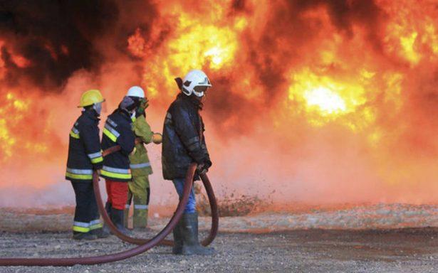 Explosión en oleoducto de Libia reduce producción de crudo