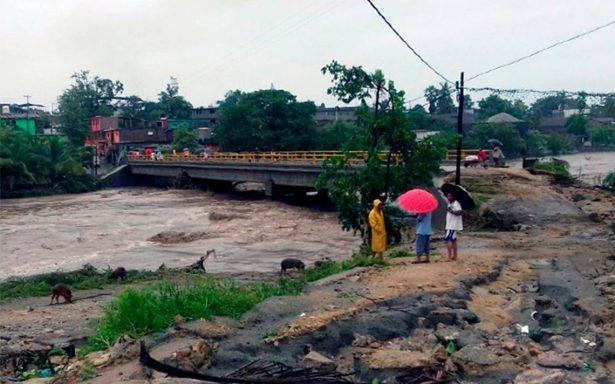 Max deja más de 300 viviendas inundadas y un desaparecido en San Marcos
