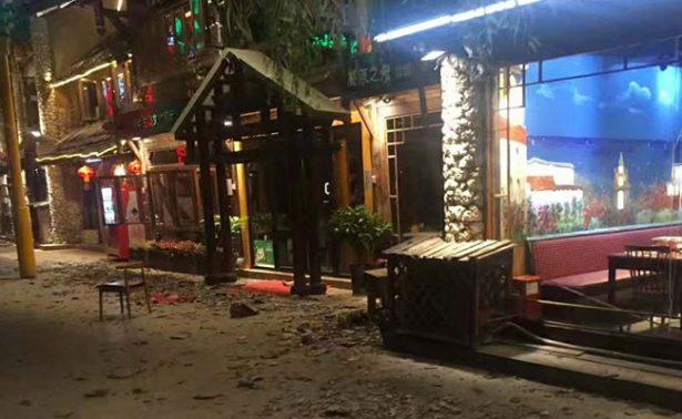 Terremoto de magnitud 6.5 sacude el suroeste de China; hay al menos cinco muertos y 60 heridos