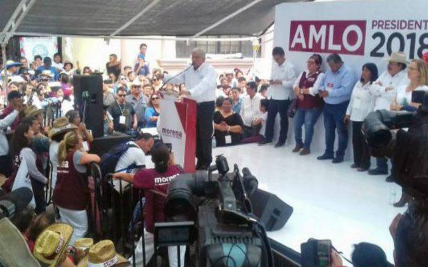 Se acabaron los fraudes en México: AMLO en Coahuila