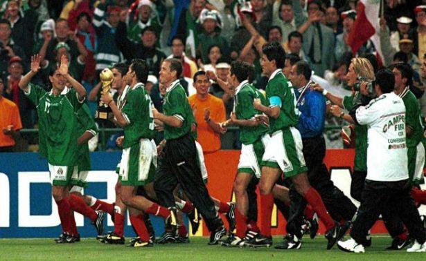 Recuerdo dorado para México: 1999, campeón de la Confederaciones