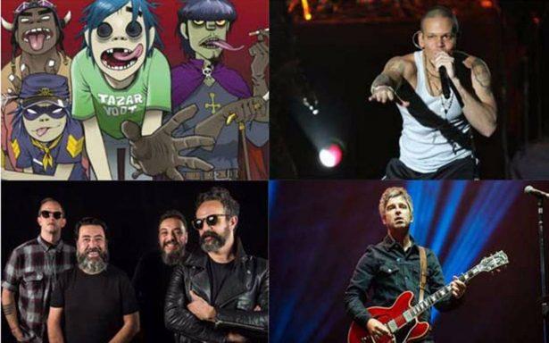 Gorillaz, Molotov, Noel Gallagher… así luce el cartel oficial del Vive Latino 2018