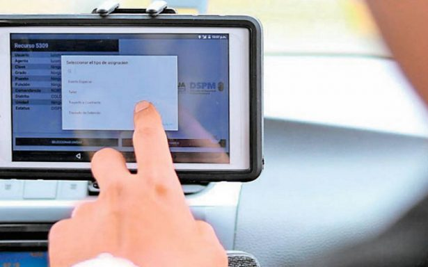 DSPM instala tablets en unidades estatales en Chihuahua