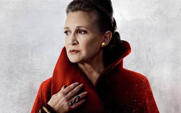 El adiós a la princesa Leia: 'Star Wars: Los últimos Jedi', la última participación de Carrie Fisher