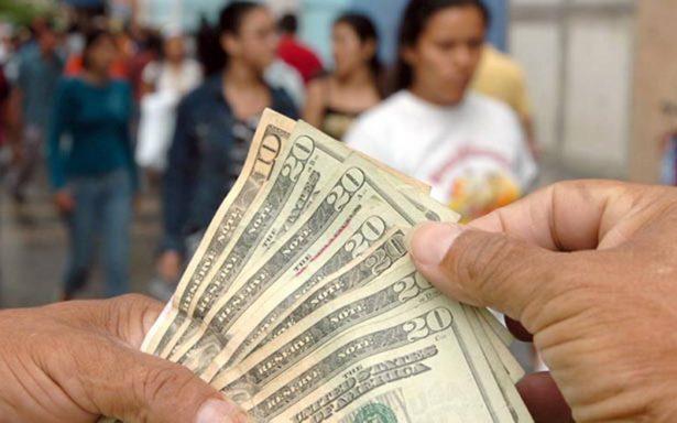 Recibe Zacatecas 2.5 mdp diarios en remesas