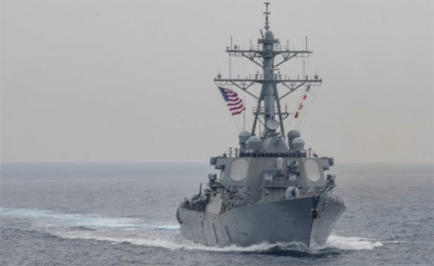 Destructor de EU y carguero chocan cerca de Japón; hay 7 desaparecidos
