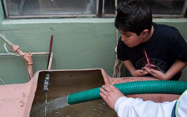 Concluye reparación de fuga de agua en el Sistema Cutzamala