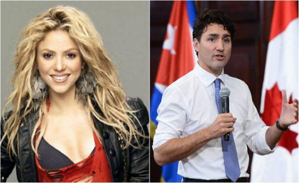 Shakira no se resiste y aprovecha foto con Justin Trudeau