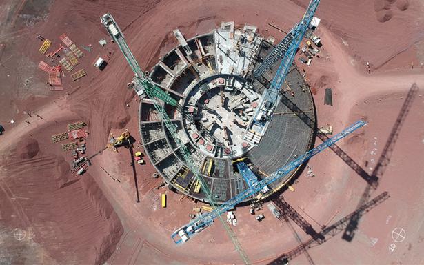 Construcción del Nuevo Aeropuerto Internacional de la Ciudad de México; una base del futuro en Texcoco