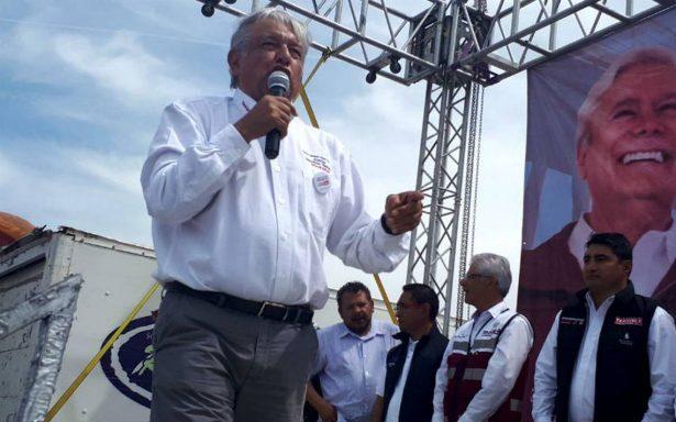 Los mexicanos no somos corruptos, dice AMLO a Trump