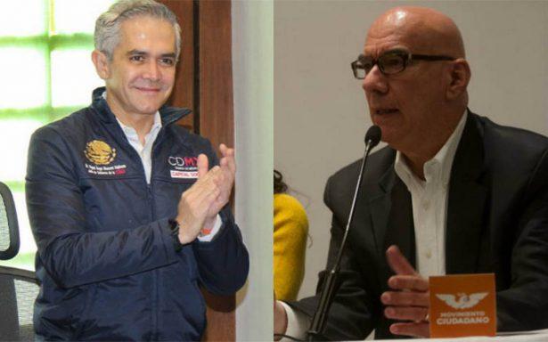 Mancera revira a Dante Delgado: lo perfila como 'buen' secretario de Agricultura