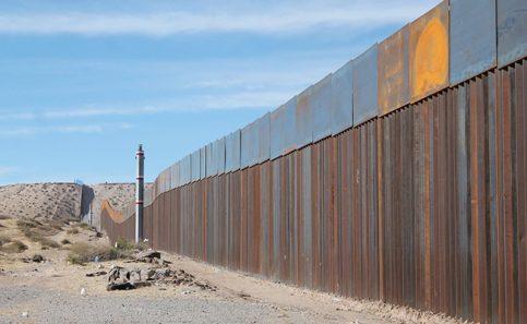 EU dejará 209 kilómetros de la frontera con México sin ningún tipo de muro