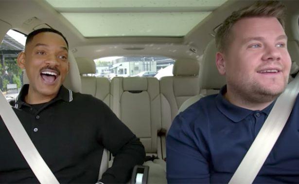 Will Smith, el elegido para estrenar serie de Carpool Karaoke